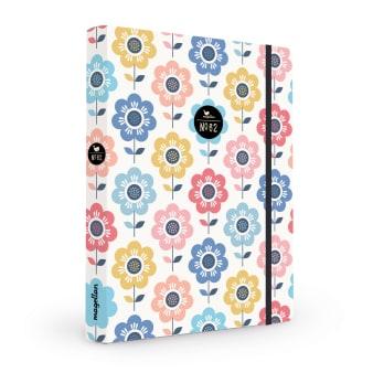 Cover Notizbuch Nummer 62 Flower-Power Schönes und Kreatives zum Eintragen