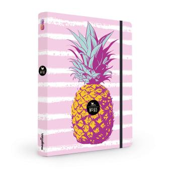 Cover Notizbuch Nummer 95 Ananas Schönes und Kreatives zum Eintragen