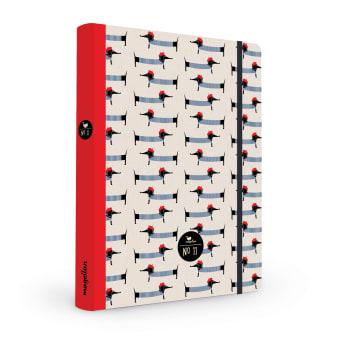 Cover Notizbuch Nummer 11 Dackel Schönes und Kreatives zum Eintragen