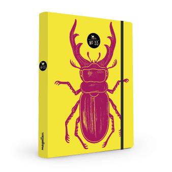 Cover Notizbuch Nummer 33 Käfer Schönes und Kreatives zum Eintragen