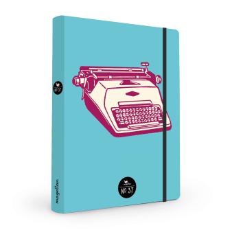 Cover Notizbuch Nummer 37 Schreibmaschine Schönes und Kreatives zum Eintragen