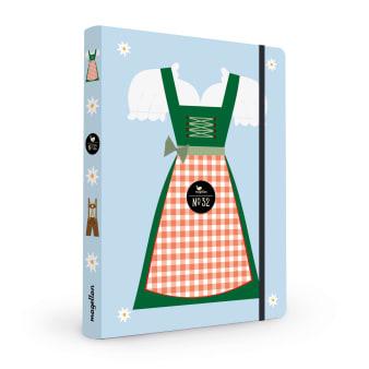 Cover Notizbuch Nummer 32 Dirndl Schönes und Kreatives zum Eintragen