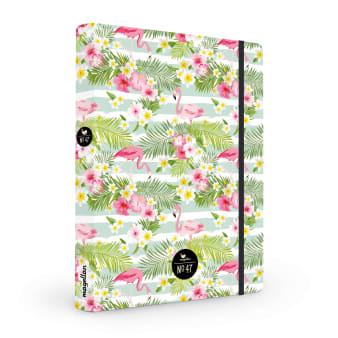 Cover Notizbuch Nummer 47 Flamingos Schönes und Kreatives zum Eintragen