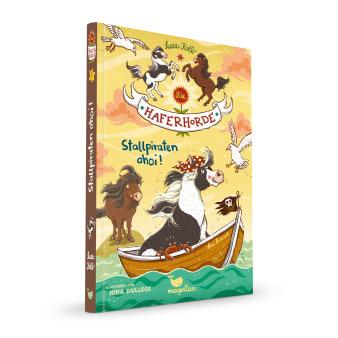 Cover Haferhorde Band5 Stallpiraten ahoi Pferdebuch von Suza Kolb