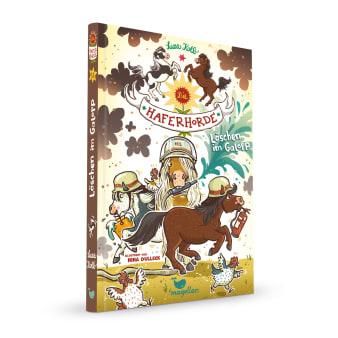 Cover Haferhorde Band14 Löschen im Galopp Pferdebuch von Suza Kolb