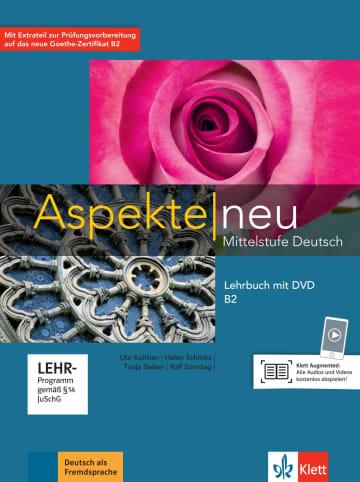 Cover Aspekte neu B2 978-3-12-605024-1 Deutsch als Fremdsprache (DaF)
