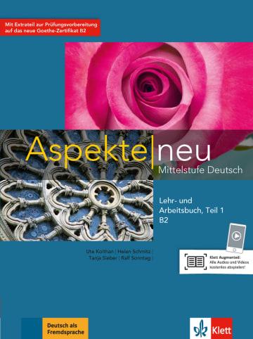 Cover Aspekte neu B2 978-3-12-605027-2 Deutsch als Fremdsprache (DaF)