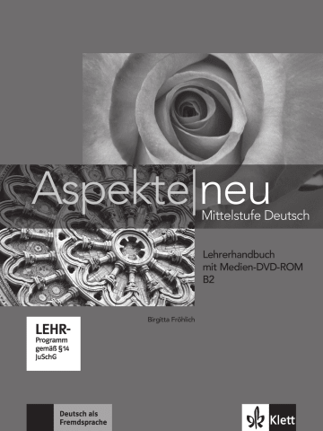 Cover Aspekte neu B2 978-3-12-605030-2 Deutsch als Fremdsprache (DaF)