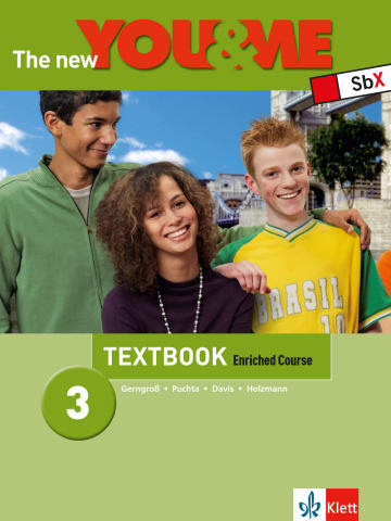Cover The New YOU & ME 3 978-3-12-606790-4 Englisch