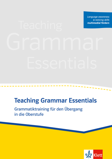 Cover Teaching Grammar Essentials 978-3-12-505702-9 Englisch