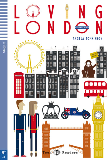 Cover Loving London 978-3-12-514754-6 Angela Tomkinson Englisch