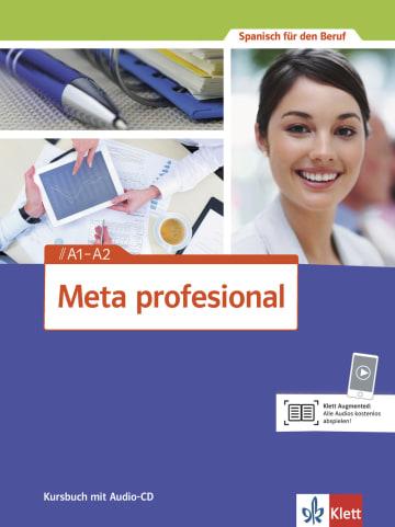 Cover Meta profesional A1-A2 978-3-12-515460-5 Spanisch