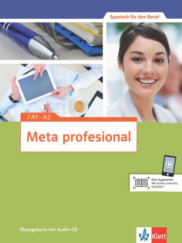 Cover Meta profesional A1-A2 978-3-12-515461-2 Spanisch