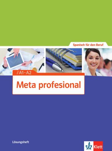 Cover Meta profesional A1-A2 978-3-12-515463-6 Spanisch