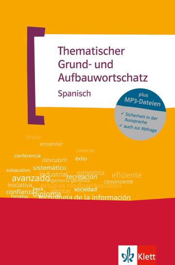 Cover Thematischer Grund- und Aufbauwortschatz Spanisch 978-3-12-519517-2 Spanisch