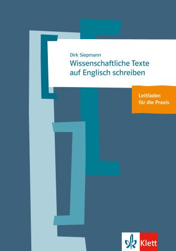 Cover Wissenschaftliche Texte auf Englisch schreiben 978-3-12-519637-7 Englisch