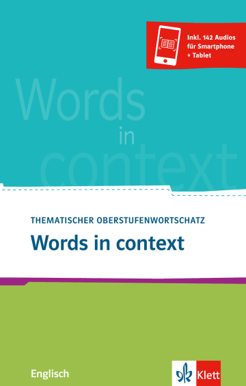 Cover Words in context 978-3-12-519945-3 Englisch