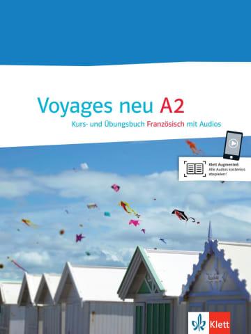Cover Voyages neu A2 978-3-12-529422-6 Französisch