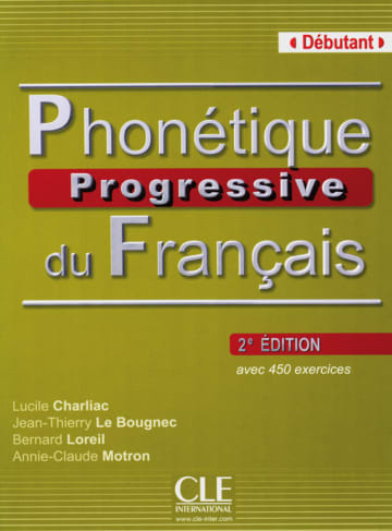Cover Phonétique progressive, Niveau débutant 978-3-12-529856-9 Französisch