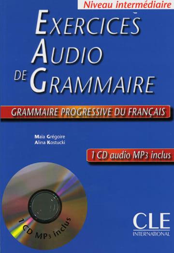 Cover Exercices audio de la Grammaire progressive du français 978-3-12-529899-6 Französisch