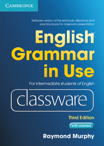 Cover English Grammar in Use 978-3-12-534726-7 Englisch