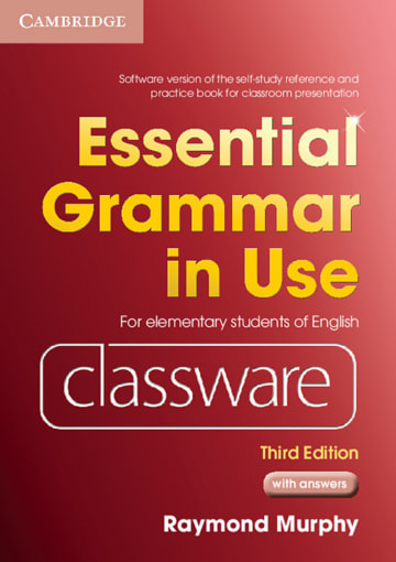 Cover Essential Grammar in Use 978-3-12-539572-5 Englisch