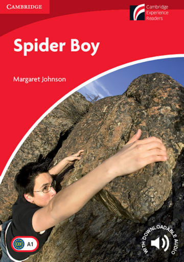 Cover Spider Boy 978-3-12-540157-0 Margaret Johnson Englisch