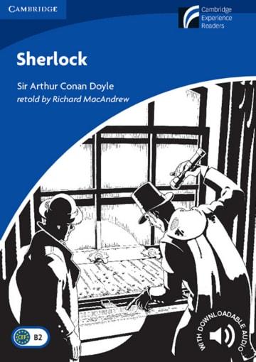 Cover Sherlock 978-3-12-540162-4 Richard MacAndrew Englisch