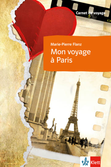Cover Mon voyage à Paris 978-3-12-545551-1 Marie-Pierre Flanz Französisch