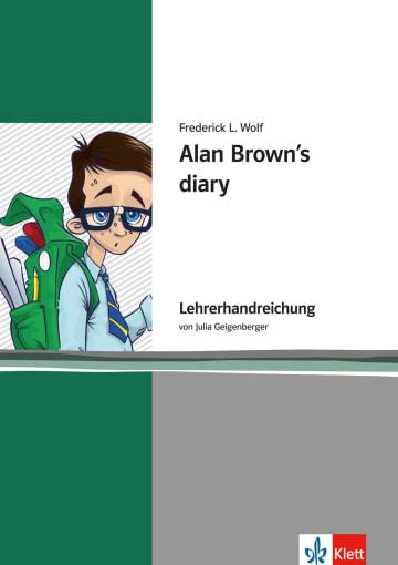 Cover Alan Brown's Diary 978-3-12-571453-3 Julia Geigenberger Englisch