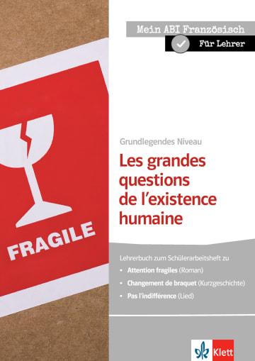 Cover Les grandes questions de l'existence humaine 978-3-12-592287-7 Michèle Périgault, Sabine Waßmundt-Fischer Französisch