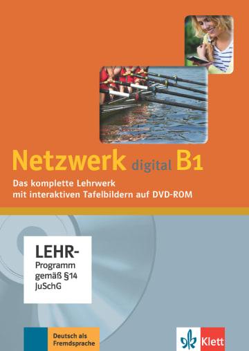 Cover Netzwerk digital B1 978-3-12-605007-4 Deutsch als Fremdsprache (DaF)