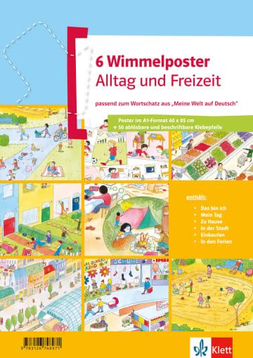 Cover Wimmelposter Alltag und Freizeit 978-3-12-674897-1 Deutsch als Fremdsprache (DaF),Deutsch als Zweitsprache (DaZ)