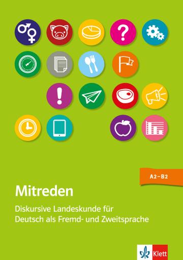 Cover Mitreden 978-3-12-675267-1 Deutsch als Fremdsprache (DaF)