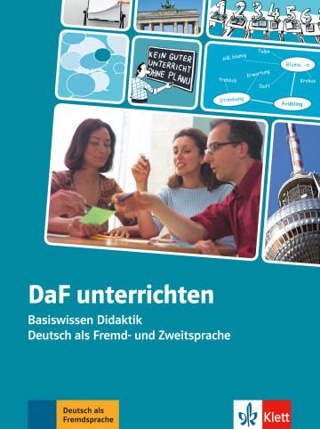 Cover DaF unterrichten 978-3-12-675309-8 Deutsch als Fremdsprache (DaF)