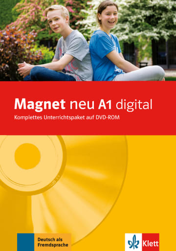 Cover Magnet neu A1 digital 978-3-12-676084-3 Deutsch als Fremdsprache (DaF)