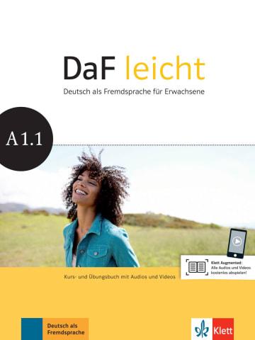 Cover DaF leicht A1.1 978-3-12-676250-2 Deutsch als Fremdsprache (DaF)