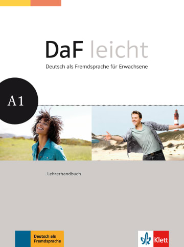 Cover DaF leicht A1 978-3-12-676252-6 Deutsch als Fremdsprache (DaF)