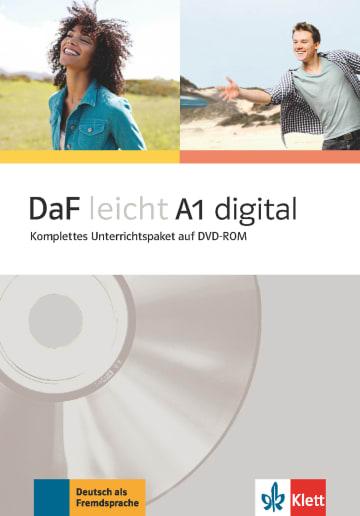 Cover DaF leicht A1 digital 978-3-12-676254-0 Deutsch als Fremdsprache (DaF)
