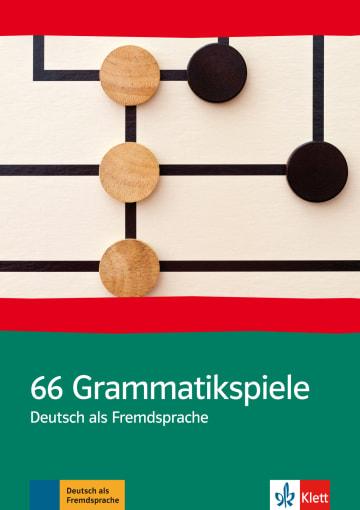Cover 66 Grammatikspiele 978-3-12-768810-8 Deutsch als Fremdsprache (DaF)