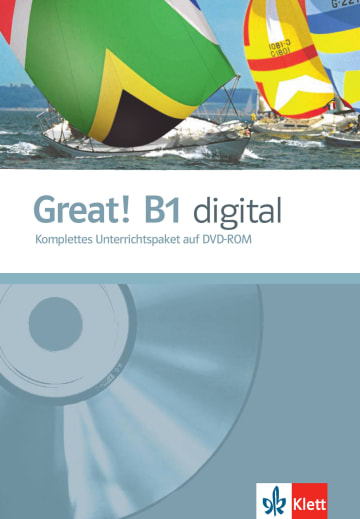 Cover Great! B1 digital 978-3-12-501494-7 Englisch