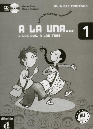 Cover A la una, a las dos, a las tres 1 978-3-12-514225-1 Spanisch