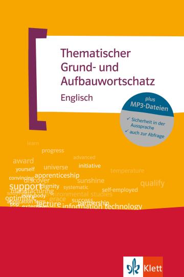 Cover Thematischer Grund- und Aufbauwortschatz Englisch 978-3-12-519515-8 Englisch