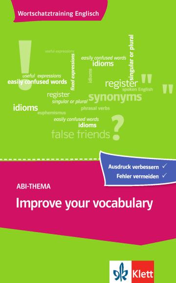 Cover Improve your vocabulary 978-3-12-519555-4 Englisch