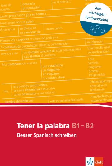 Cover Tener la palabra: Besser Spanisch schreiben 978-3-12-519565-3 Spanisch