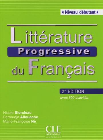 Cover Littérature progressive, Niveau débutant 978-3-12-529846-0 Französisch