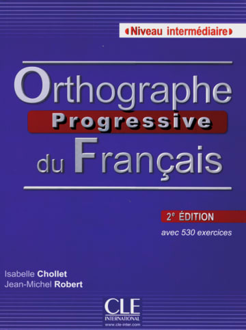 Cover Orthographe progressive, Niveau intermédiaire 978-3-12-529855-2 Französisch