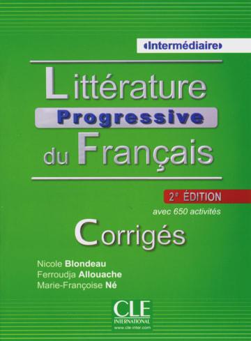 Cover Littérature progressive, Niveau intermédiaire 978-3-12-529929-0 Französisch