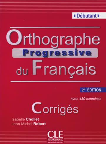 Cover Orthographe progressive, Niveau débutant 978-3-12-529932-0 Französisch