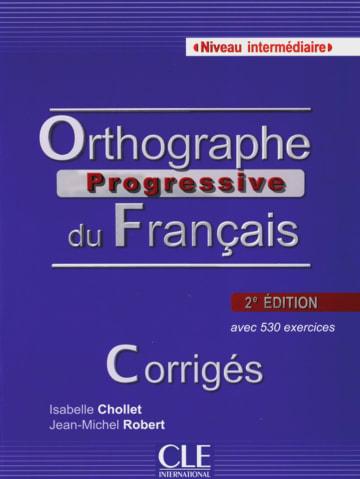 Cover Orthographe progressive, Niveau intermédiaire 978-3-12-529934-4 Französisch